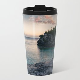 Sunrise at Bruce Peninsula National Park Travel Mug