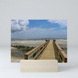 Welcome To The Beach Mini Art Print