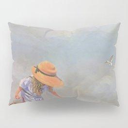 Collecting Sea Shells Pillow Sham
