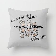 Greyer Ladies Throw Pillow
