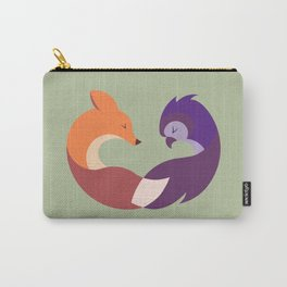 The Fox and the Owl Carry-All Pouch