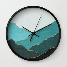Minimal Landscape 04 Wall Clock