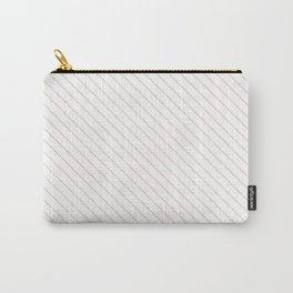 Rose Quartz Stripe Carry-All Pouch