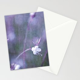 melancholy flowers Stationery Cards
