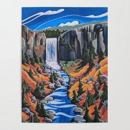 Tumalo Falls Poster