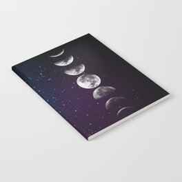 Phases of the Moon Notebook