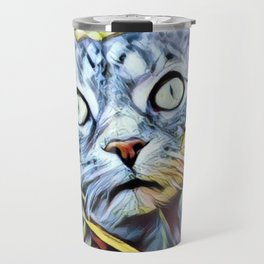 Cat For Cats Lovers Travel Mug