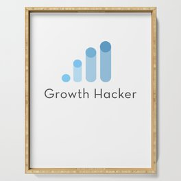 Growth hacker Serving Tray