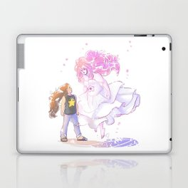 The Goddess and the Comet Laptop & iPad Skin