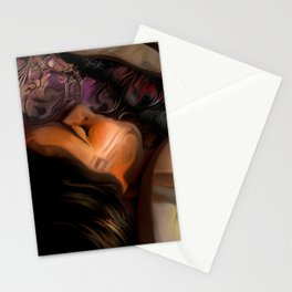 Resting in Mallow Stationery Cards