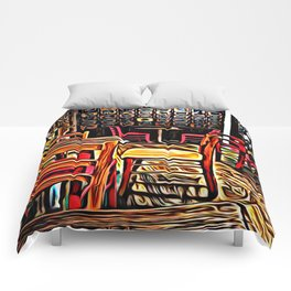 Creativity Cafe Comforters