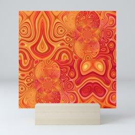 gold solaris Mini Art Print
