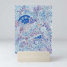 Ka-doodle Doodle Dooooo! Mini Art Print