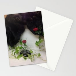 Mink 'n Roses... Perfect Combination Stationery Cards