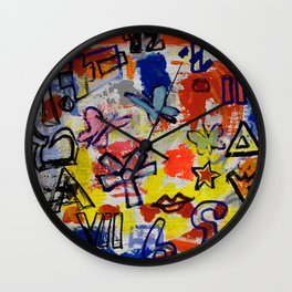 Pharaoh Sky  Sign Wall Clock