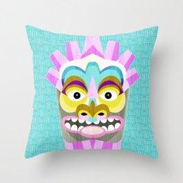 Hawaiian Tiki Aloha Throw Pillow