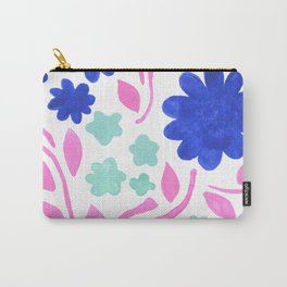 Cool Folk Floral Carry-All Pouch