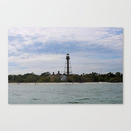Swimmers on Sanibel Canvas Print