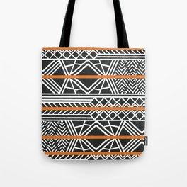 Tribal ethnic geometric pattern 022 Tote Bag