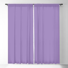 From The Crayon Box – Purple Mountains Majesty - Pastel Purple Solid Color Blackout Curtain