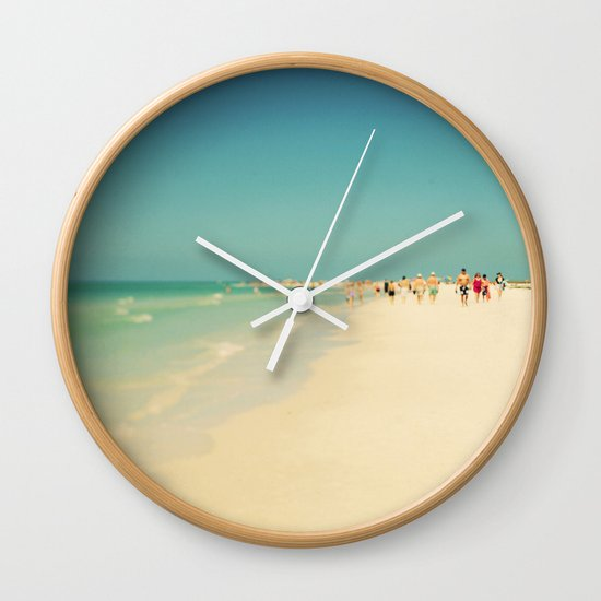 Siesta #5 Wall Clock