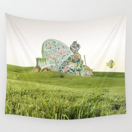atmosphere · fields Wall Tapestry