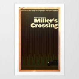 Film Friday No. 3, Miller's Crossing Art Print