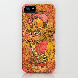 Chinese Dragon of Fortune iPhone Case