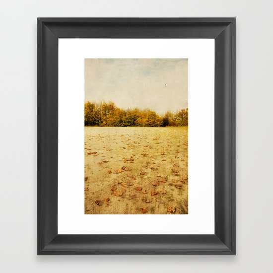 what is time Framed Art Print