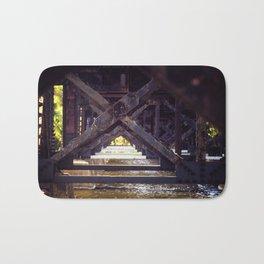 Rusty Bridge Bath Mat