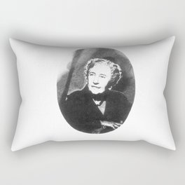 Agatha Christie Rectangular Pillow