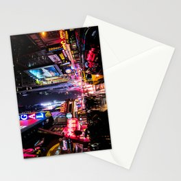 New York City Night Stationery Cards