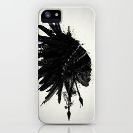 Warbonnet Skull iPhone Case