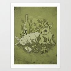 Easy Lover Art Print