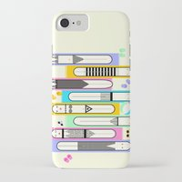 suits iPhone & iPod Cases featuring swim suits  by filipa nos campos