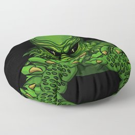 Creature from the black lagoon Floor Pillow