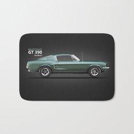 The Bullitt Mustang GT 390 Bath Mat