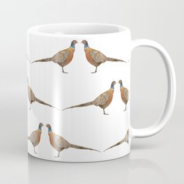 Pheasant Pattern Coffee Mug