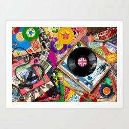 Viva le Vinyl Art Print