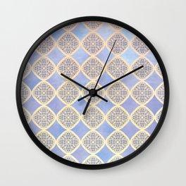Daydream in Blue Wall Clock