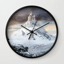 Forgotte World Saint Basils Wall Clock
