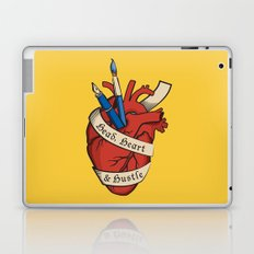 Head, heart & hustle Laptop & iPad Skin
