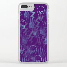 THE GOLDEN TRIO Clear iPhone Case