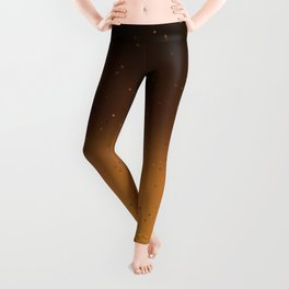 Chocolate and Peanut Butter Leggings