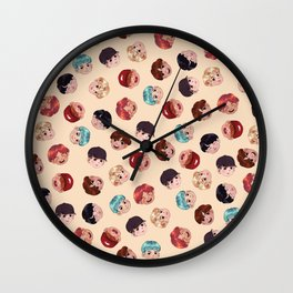 BTS Pattern Wall Clock