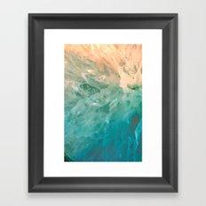 Solar Crystals Framed Art Print