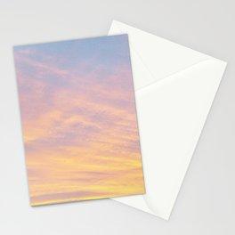 Blue Rose Yellow Sunrise Stationery Cards