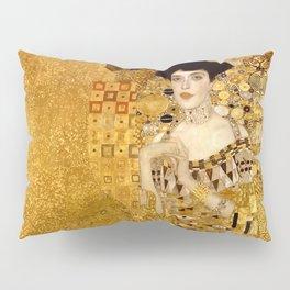 Woman in Gold Portrait by Gustav Klimt Pillow Sham