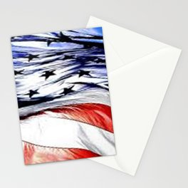 Land Of The Free. Stationery Cards