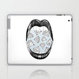 I Want More - Blue Laptop & iPad Skin